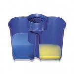 Balde duplo azul 15 litros