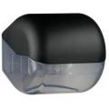 Suporte para papel higiênico em rolos ou em folhas - preto