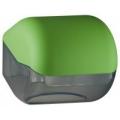 Suporte para papel higiênico em rolos ou em folhas - verde
