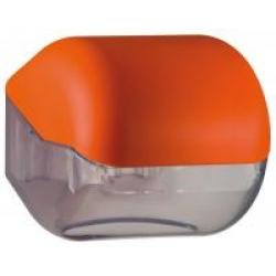 Suporte para papel higiênico em rolos ou em folhas - laranja