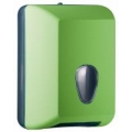 Suporte para papel higiênico interfolhas - verde