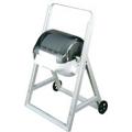 Cavalete para rolo industrial com rodas - HACCP