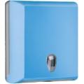 Toalheiro para papel de mãos interfolhas - azul