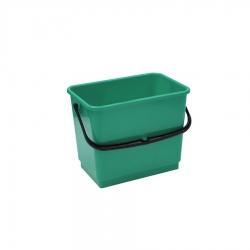 Balde de plástico verde, 4 Litros, com pega