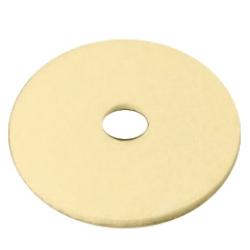Pad bege para polimento/limpeza 16 polegadas